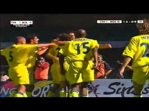 Serie A 2001-2002, day 02 Chievo - Bologna 2-0 (Corradi, F.Cossato)
