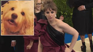 Lena Dunham Put Elderly Dog in Treatment Facility for Aggressive Pets