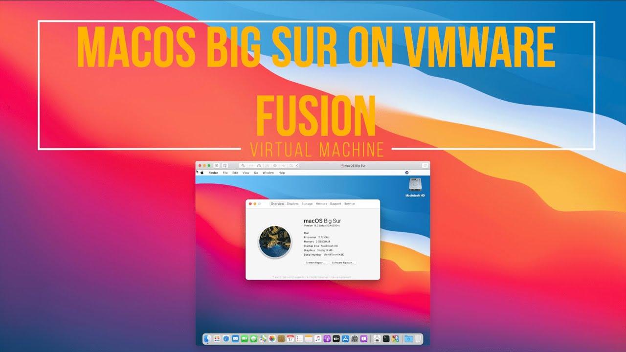 Fusion 11.5 Big Sur