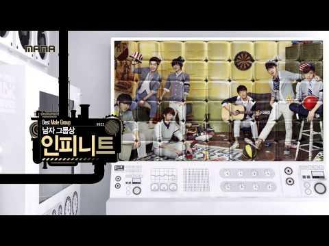 2013 Mnet Asian Music Awards : 남여 그룹