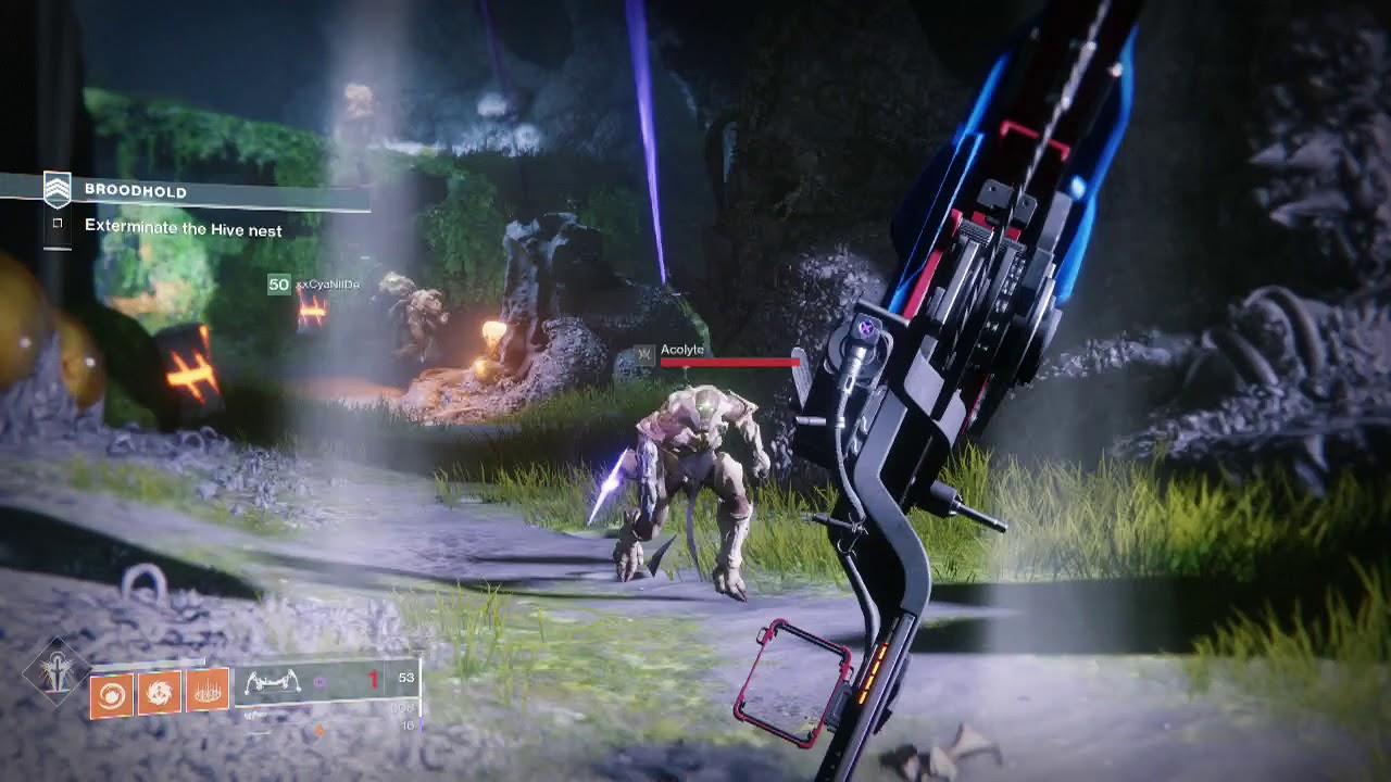 Destiny 2 Dawning Get Chitin Powder in Broodhold Heroic Strike