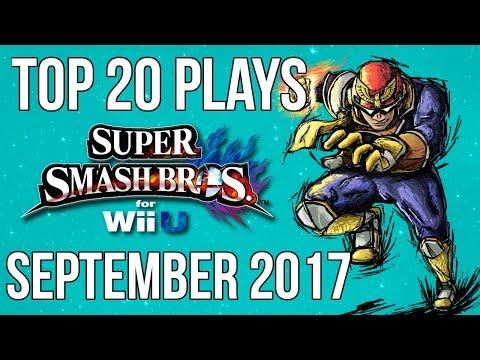 Top 20 Smash 4 Plays of September 2017 - Super Smash Bros Wii U (SSB4)