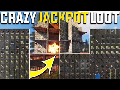 RAIDING THE RICHEST DECAYING CLAN BASE GAVE JACKPOT SULFUR PROFIT - Rust Survival Gameplay | S20-E5 thumbnail