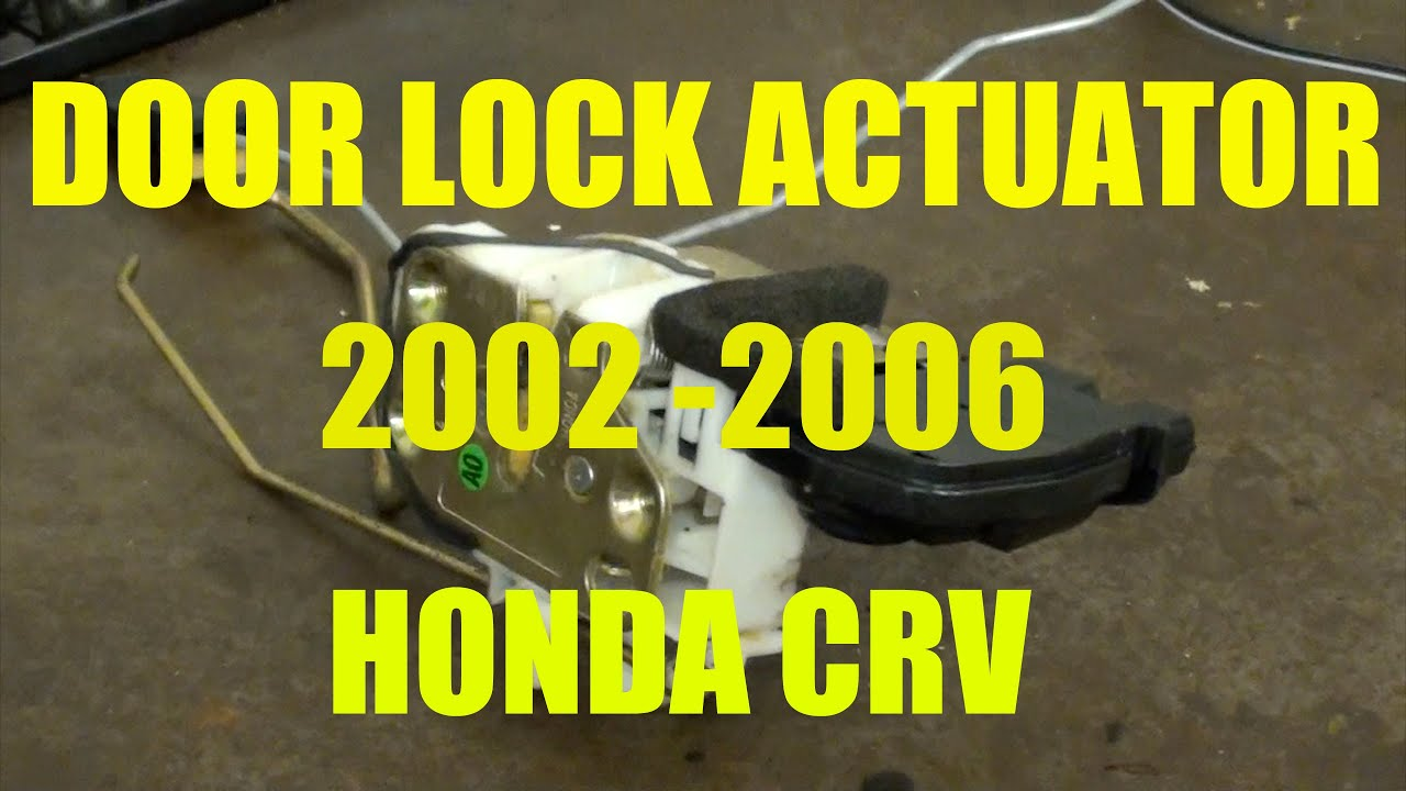 maxresdefault replacement door lock actuator honda crv youtube 2003 Honda CR-V Wiring-Diagram at bakdesigns.co