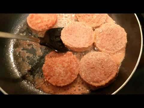 BEYOND MEAT BURGERS | NO OIL Frying w/ Water