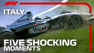 5 Shocking Moments From The Italian Grand Prix