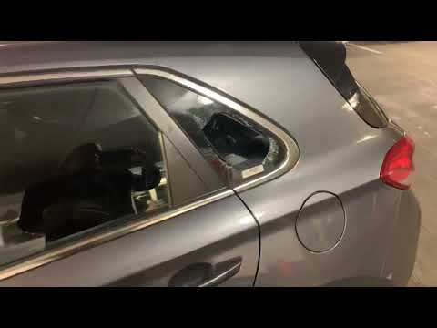 My Hyundai Elantra GT's Window Was Smashed On Grand Avenue In Oakland