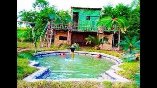 Build Luxury Swimming Pool Underground( Full )