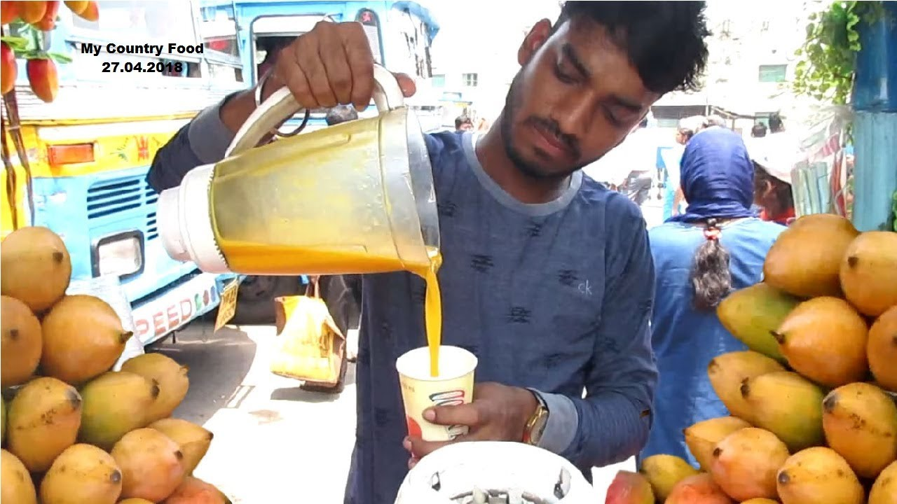 Download Mango Juice - Healthy Street Drinks In India - Indian Street Food Kolkata - My country Food