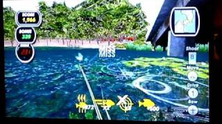 Shimano Xtreme Fishing gameplay