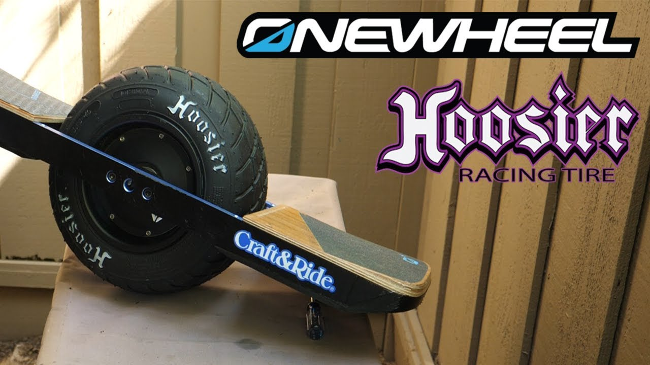 Onewheel + XR Hoosier 11X5 5-6 Treaded Tire Installation Tutorial