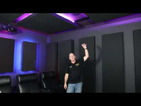 Home Theatre Room Acoustic Example