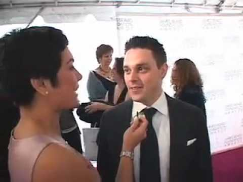 Gavin Kaysen on the red carpet at the 2009 James Beard Foundation Awards