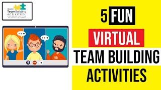 5 Zoom, Virtual, or Team Building Activities: [IDEAS FOR VIRTUAL OR REMOTE TEAMS] screenshot 1