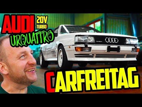 Die Überraschung an CARFREITAG! - Audi Urquattro 20V TURBO! - Es war ein geiler Tag!