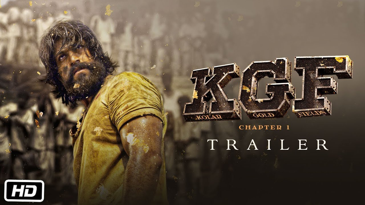 Kgf Trailer Hindi Yash Srinidhi 21st Dec 2018 Youtube