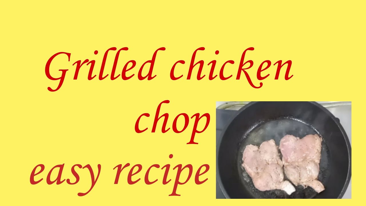 How to make Special grilled chicken chops 😋| cooking with Nadeem|