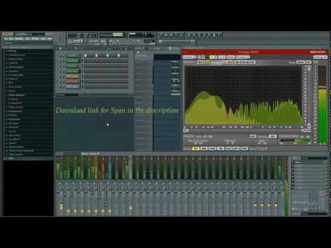 Voxengo Span: Routing in FL Studio