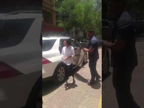 Aamir Khan and Kiran Rao arrive at Reema Lagoo's Residence