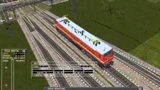 MSTS Indian Railways Coupling LGD WAP4 with Guntur Intercity