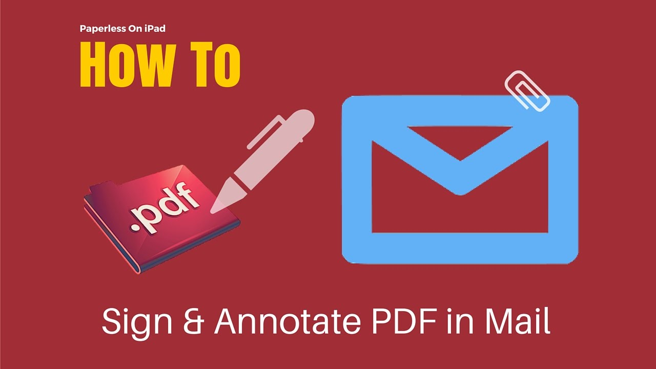 Paperless On Ipad: Sign & Annotate Pdf In Mail