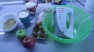 КУЛИНАРНЫЙ ВЛОГ/Шарлотка для начинающих/Простой рецепт яблочного пирога!