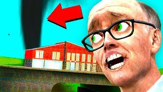 WE FOUND THE SCARIEST TORNADO! (Garrys Mod Funny Moments)
