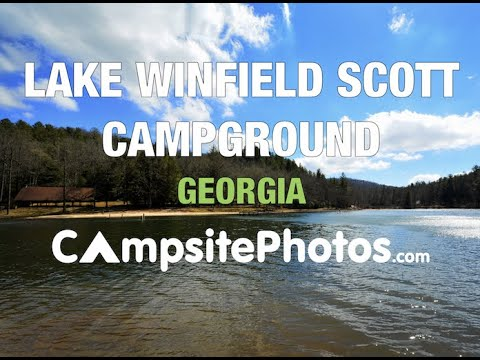 Lake Winfield Scott Campground, Chattahoochee National Forest, Georgia