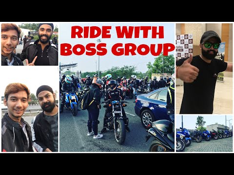 ROAD FULL OF SUPERBIKES || BOSS GROUP || JS Films || Jatt Prabhjot || Beard Bikerr || PRANJAL MISHRA