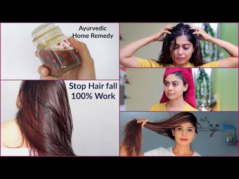 Ayurvedic Nuskha to Stop Hair fall immediately and grow new hair | Rinkal Soni