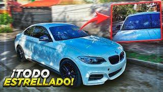 ASÍ QUEDÓ EL PARABRISAS DEL BMW.. | ManuelRivera11