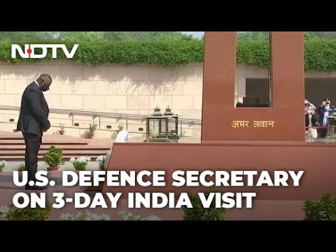 US Defence Secretary On 3-Day India Visit