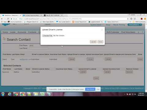 Testing Mass Upload Driver's License and Insurance Card in Sandbox Video2