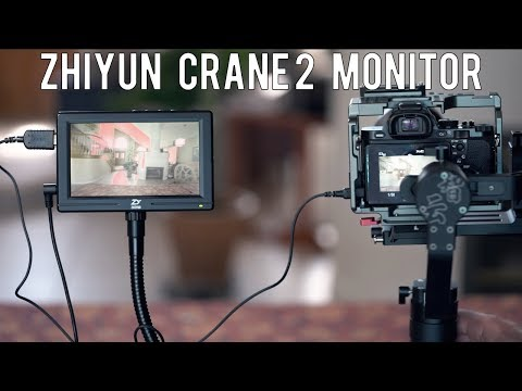 NEW Filmmaking Monitor From Zhiyun-Tech for Crane 2 Gimbal | Momentum Productions