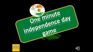 2018 UNIQUE ONE MINUTE GAME ON INDEPENDENCE DAY // FLAG COLOR GAME FOR INDEPENDENCE DAY