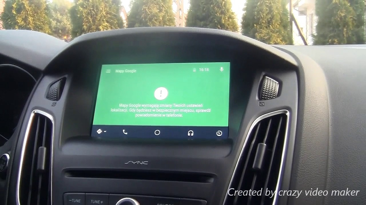Android Auto Ford Focus