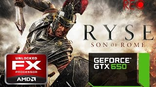 RYSE Son Of Rome Gameplay PC  FX 8350 GTX 650
