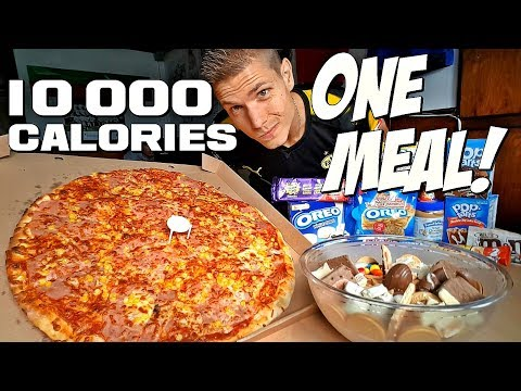 10 000 CALORIES in ONE MEAL CALLENGE! | JUNK BOWL MADNESS 2.0 (Mukbang style)