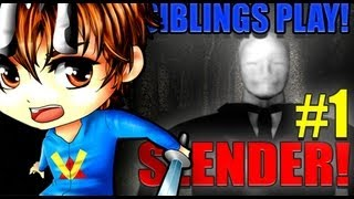 Siblings Play: Slender Part 1