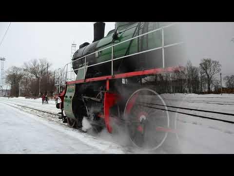 Паровоз Су в Осташкове. Пригородный поезд №6697