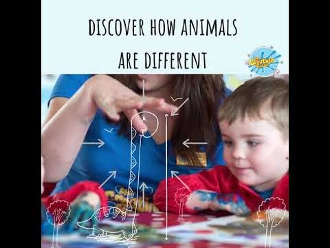 Inspire your children with online Awesome Animals classes with crafts provided.