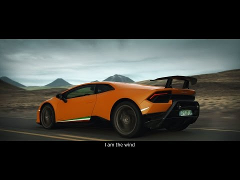 Huracán Performante: Sculpted by the wind