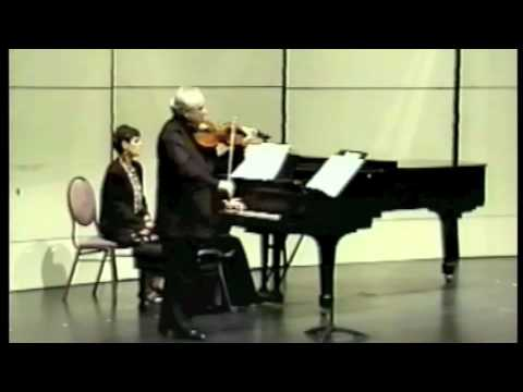 Rubinstein Sonata 2nd mov, Michael Kugel,viola