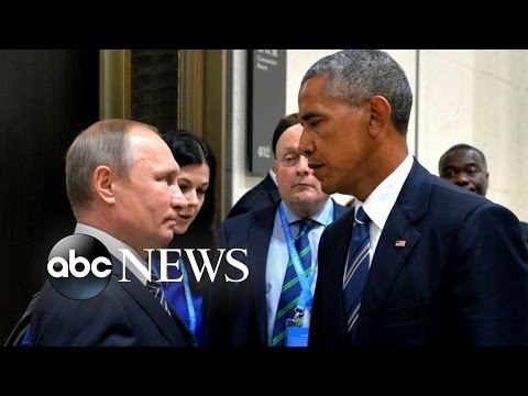 President Obama Believes Russian President Putin Behind DNC Hacked Emails