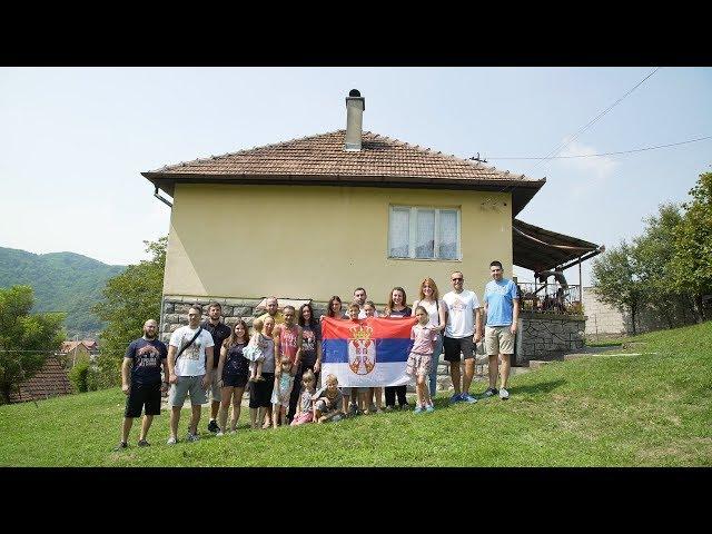 Kupovina kuće porodici Lukić u Malom Zvorniku - Srbi za Srbe