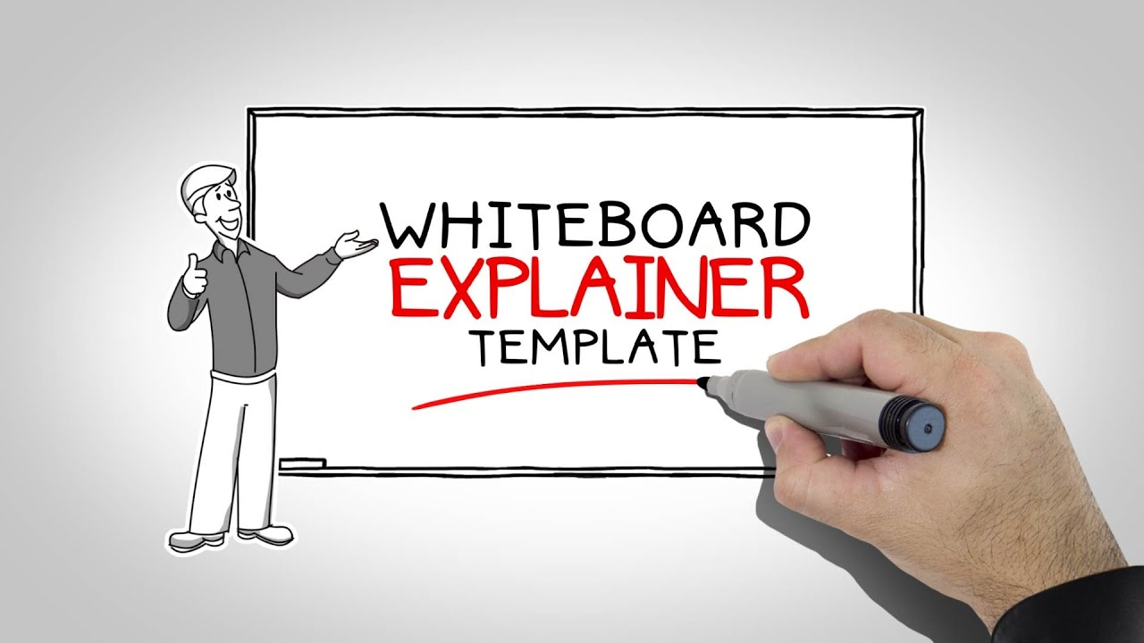 After Effects Templates WHITEBOARD EXPLAINER YouTube - Explainer video templates