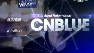 111129  2011 Mnet Asian Music Awards CNBLUE最佳樂團表現獎