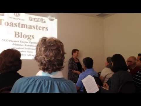 VPPR Toastmasters Leadership Institute Training 2014