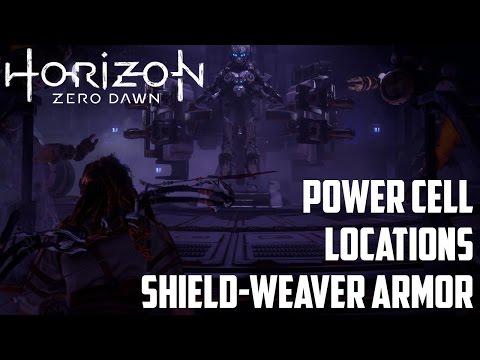 Horizon Zero Dawn Power Cell Locations - Spoilers - Ultra Shield-Weaver Armor - PS4 Pro