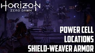 This video shows location of all 5 power cells in Horizon Zero Dawn...